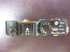 Canon Powershot G9 Camera Part - Top Bar Power Zoom Button Mode Dial Hotshoe