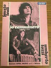 FD045_UMBERTO TOZZI_FAUSTO LEALI_IO CAMMINERO_ED. APRIL MUSIC_1976_SPARTITO