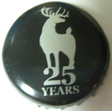 OLD DOMINION BREWING black Beer CROWN, Bottle Cap with DEER, Dover, DELAWARE