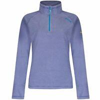 Brand New Ladies Regatta Montes Zip Neck Midweight Micro Outdoor Fleece RRP £30