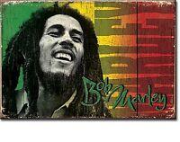 Bob Marley Ls Stahl Kühlschrank Magnet (De)