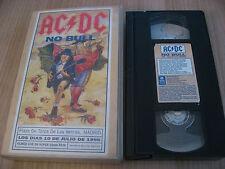 AC/DC no bull VHS LIVE PLAZA DE TOROS DE LAS VENTAS