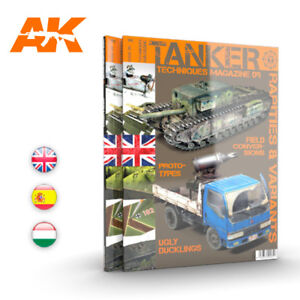 TANKER TECHNIQUES ISSUE 9 - AK INTERACTIVE - RARITIES & VARIANTS