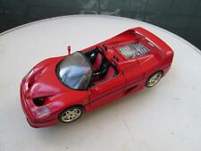 voiture burago FERRARI rouge mo 2212 en métal collection luxe vintage