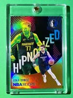 Luka Doncic HOT NEW HIPNOTIZED HOLOFOIL SPECIAL INSERT PANINI NBA HOOPS - Mint!