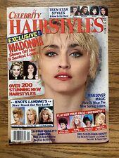 MADONNA CELEBRITY HAIRSTYLES MAGAZINE May 1990