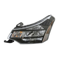 Left Headlight Assembly For 2009-2011 Ford Focus SES 2010 TYC 20-6918-90-1