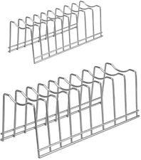 Kitchen Pot Sheet Lid Rack Holder, Bakeware Dish Plate Rack and Storage Organize