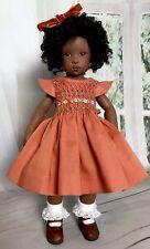 "28cm Boneka Smocked Cotton Dress For Kish Bitty Bethany Bleuette 11"" dolls SLD 5"