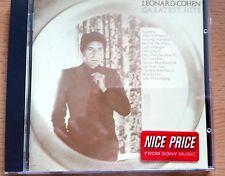 Leonard Cohen, Greatest Hits,  CDs