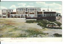 CC-129 CA La Jolla Park, Hot Salt Water Bath House Undivided Back Postcard
