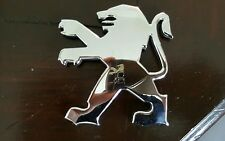 Peugeot 206 genuine rear boot bonnet badge emblem