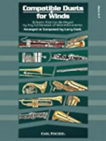Compatible Duets for Winds, New, Larry Clark Book