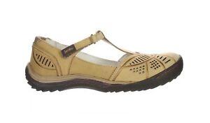 Jambu Womens Bridget Flat Oatmeal Mary Janes Size 8.5 (2022005)