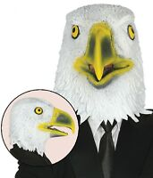Hombre Mujer Águila Pájaro Goma Máscara Disfraz de Halloween