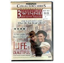 Life Is Beautiful Dvd Widescreen Collectors Series Robert Benigni