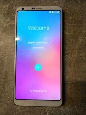 LG G6 - 64GB - Weiß Dual-Sim (Ohne Simlock) Smartphone (defekt bitte lesen)