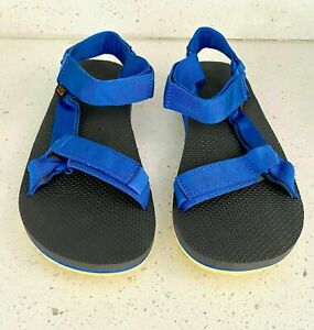 Teva Mens Original Universal Sandal Yellow/Blue - NEW (Men's Size 12)