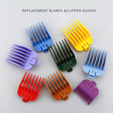 8PCS For WAHL Hair Clipper Limit Combs Guide Trimmer Guards Attachment Combs BM