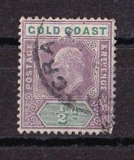 GOLD COAST Côte d'Or 1904-06 Edouard VII 1/2 p. CA