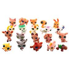 Littlest Pet Shop Cute Dog Cat Animals Figures Lot Random Style Toys 20 PCS New