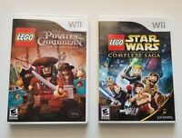 Nintendo Wii : Lego Star Wars: The Complete Saga & Pirates of the Caribbean