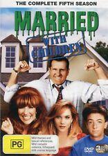 Married With Children - Season 5 - Aust Seller - Brand New - Region 4