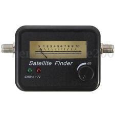 New Digital Satellite Signal Dish Monitors FTA HD Signal  Meter Receiver Finder