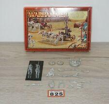 Warhammer Tomb Kings Settra el inolvidable Carro En Caja Y Completo De Metal 825