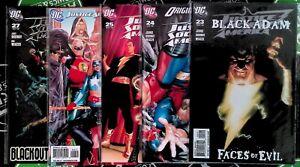 Justice Society of America #23-27 2009 DC Comics Black Adam Stargirl Wildcat