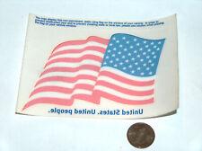 NEW USA UNITED STATES BANK OF AMERICA CAR AUTO HOME INTERIOR WINDOW STICKER FLAG