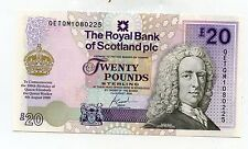 ROYAL BANK OF SCOTLAND SCOTTISH £20 Queen Mother  BANKNOTE 4th August 2000