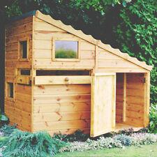 Garden Wooden Playhouse 6' x 4' 1790mm x 1190mm T&G 'Command Post/Bunker'