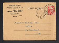 """BUZANCAIS (36) HUILERIE des HERVAUX """"Jean FOUCRET"""" en 1952"""
