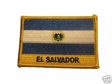 El Salvador Embroidered Flag patch-Iron on orSew