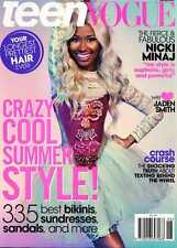 TEEN VOGUE,Nicki Minaj,Jaden Smith,Zac Posen,Tolula Adeyemi, Macailah Maxwell