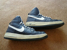 NIKE AIR FORCE 1 HIGH 07 315121-402 SZ 10 NAVY WHITE SUPREME MENS SHOES