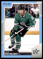 2020-21 UD O-Pee-Chee Blue Border #77 Joe Pavelski - Dallas Stars