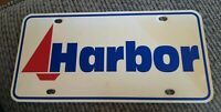 HARBOR CHEVY CHEVROLET BUICK closed dealership CAR Dealer License plate INDIANA