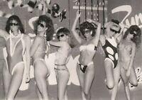 1980's BIG HAIR BIKINI WOMEN 5 x 7 FOUND PHOTO Girls bw FREE SHIPPING 94 8 K