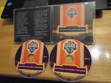 RARE PROMO Warner Chappell samplr 2x CD Rob Zombie KATY PERRY Wiz Khalifa HANSON