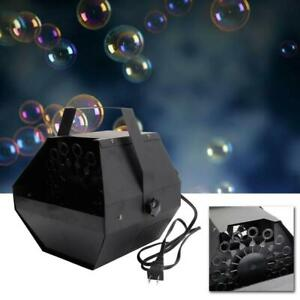 Halloween Automatic Bubble Machine Blowing Maker DJ DISCO Party Stage Wedding