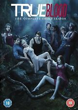 TRUE BLOOD COMPLETE SERIES 3 DVD Collection All Episodes Season Third 3rd Sealed