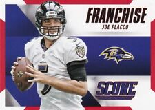 Joe Flacco  2015 Panini Score Football Sammelkarte , Franchise (Red)