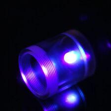 """Barrow G1 / 4 """"Acrilico Illuminazione Modulo 5 mm LED TAPPI SERBATOIO UV VIOLA"""
