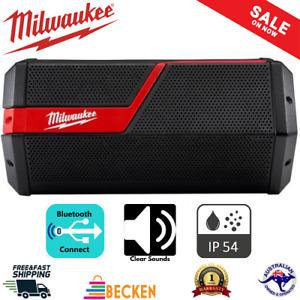 Cordless Bluetooth Jobsite Radio Speaker 18V 6 Speakers Milwaukee M12 M18 USB AU