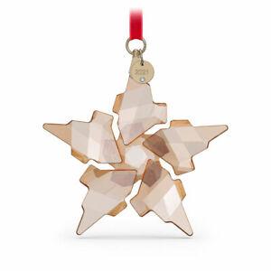 Swarovski 2021 FESTIVE GOLD ANNUAL EDITION LARGE CHRISTMAS ORNAMENT 5583847