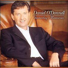 ODonnell, Daniel : Yesterdays Memories CD