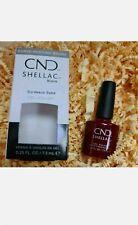 CND Shellac Esmalte de Uñas de Gel Burdeos Babe 7.3ml Nuevo