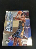 ZION WILLIAMSON 2019-20 PANINI MOSAIC NEW ORLEANS PELICANS ROOKIE BLUE CHIPS RC